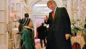 مطالب على السوشيال ميديا بحذف مشهد الرئيس السابق ترامب في فيلم Home Alone 2